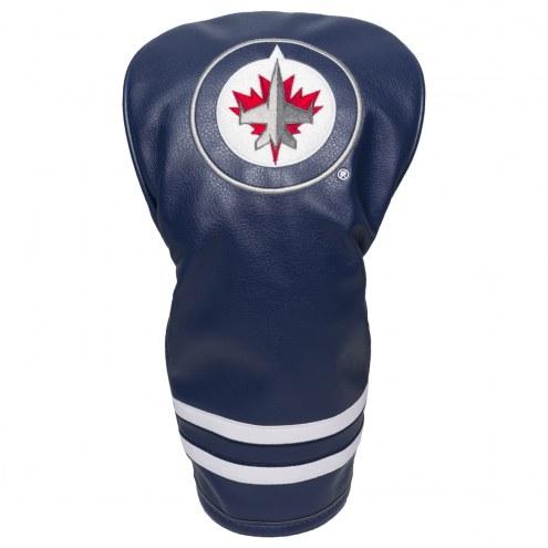 Winnipeg Jets Vintage Golf Driver Headcover