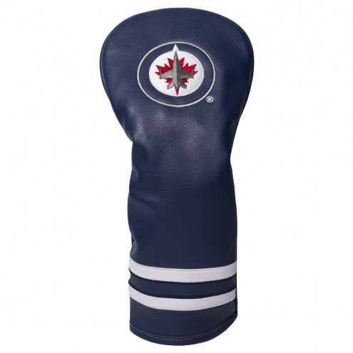Winnipeg Jets Vintage Golf Fairway Headcover