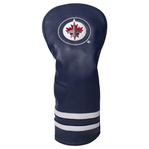 Winnipeg Jets Vintage Golf Fairway Headcover