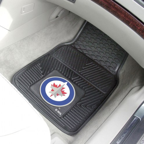 Winnipeg Jets Vinyl 2-Piece Car Floor Mats