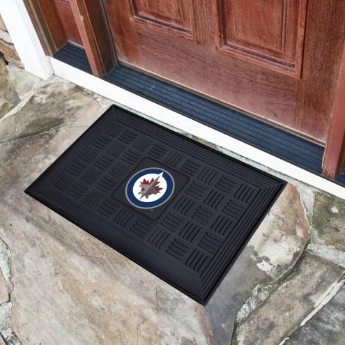 Winnipeg Jets Vinyl Door Mat