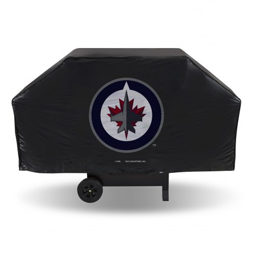 Winnipeg Jets Vinyl Grill Cover
