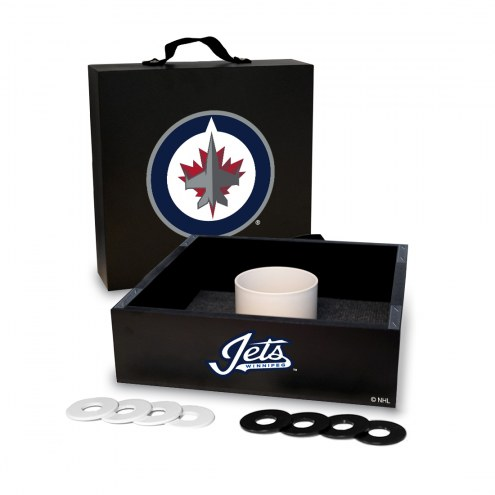 Winnipeg Jets Washer Toss Game Set