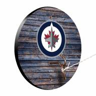 Winnipeg Jets Weathered Design Hook & Ring Game