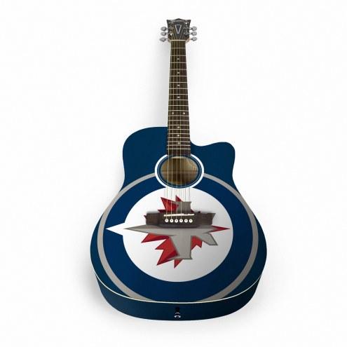 Winnipeg Jets Woodrow Acoustic Guitar