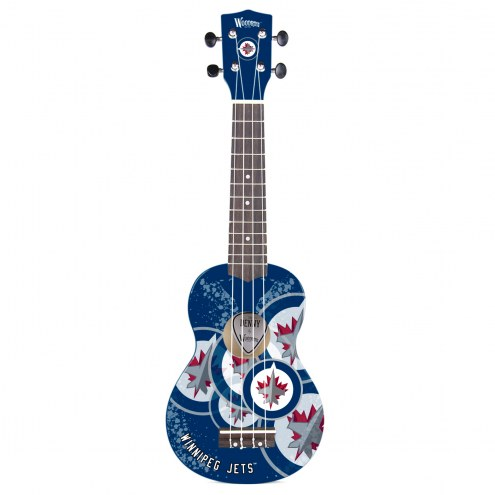 Winnipeg Jets Woodrow Denny Ukulele