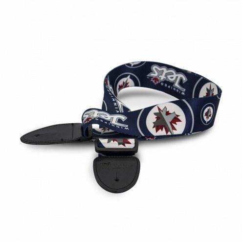 Winnipeg Jets Woodrow Guitar Strap