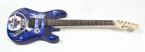 Winnipeg Jets Woodrow Northender Electric Guitar