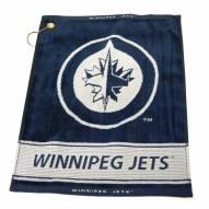 Winnipeg Jets Woven Golf Towel
