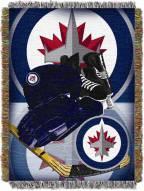 Winnipeg Jets Woven Tapestry Throw Blanket