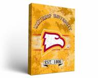 Winthrop Eagles Banner Canvas Wall Art