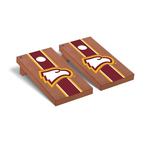 Winthrop Eagles Rosewood Stained Stripe Cornhole Game Set