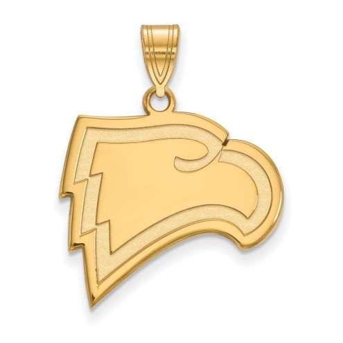 Winthrop Eagles Sterling Silver Gold Plated Large Pendant