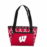 Wisconsin Badgers 16 Can Cooler Tote