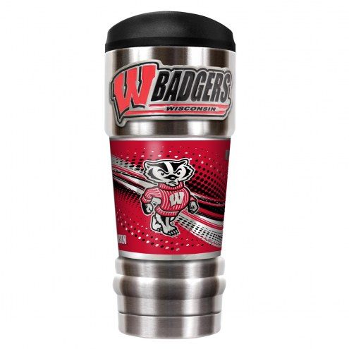 Wisconsin Badgers 18 oz. MVP Tumbler