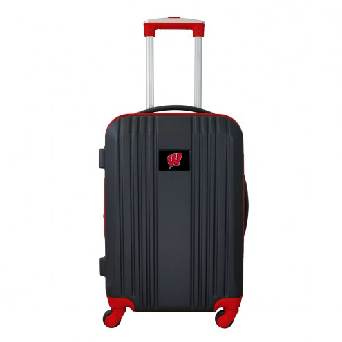 "Wisconsin Badgers 21"" Hardcase Luggage Carry-on Spinner"