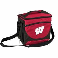 Wisconsin Badgers 24 Can Cooler