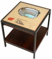 Wisconsin Badgers 25-Layer StadiumViews Lighted End Table