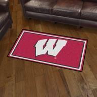 Wisconsin Badgers 3' x 5' Area Rug