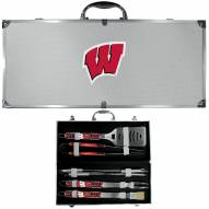 Wisconsin Badgers 8 Piece Tailgater BBQ Set