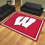 Wisconsin Badgers 8' x 10' Area Rug