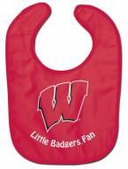 Wisconsin Badgers All Pro Little Fan Baby Bib