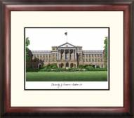 Wisconsin Badgers Alumnus Framed Lithograph
