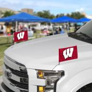 Wisconsin Badgers Ambassador Car Flags