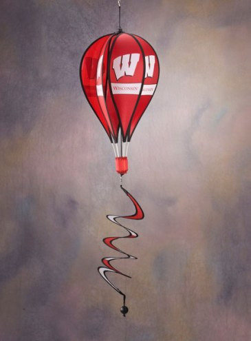 Wisconsin Badgers Balloon Wind Spinner