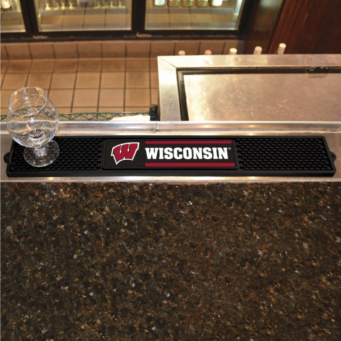 Wisconsin Badgers Bar Mat