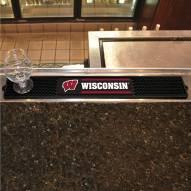 Wisconsin Badgers Bar Mat