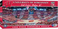 Wisconsin Badgers Basketball 1000 Piece Panoramic Puzzle