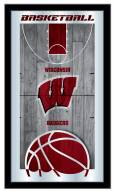Wisconsin Badgers Basketball Mirror