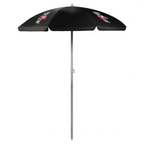 Wisconsin Badgers Beach Umbrella