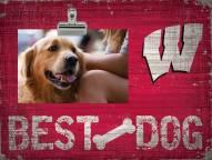 Wisconsin Badgers Best Dog Clip Frame