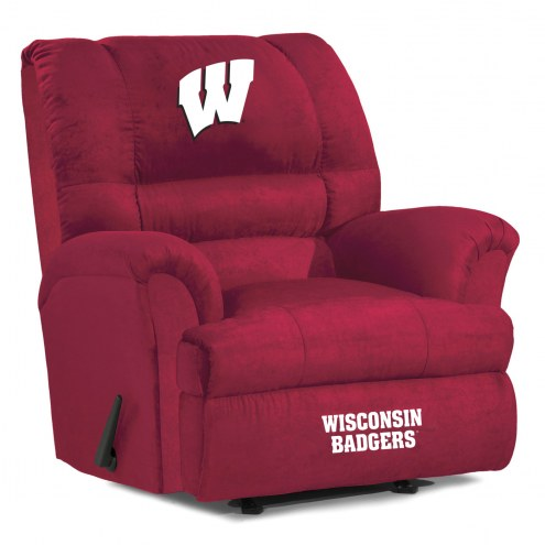 Wisconsin Badgers Big Daddy Recliner
