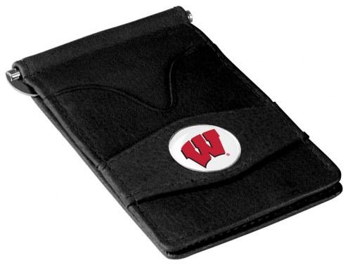 Wisconsin Badgers Black Player's Wallet