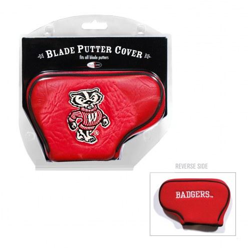 Wisconsin Badgers Blade Putter Headcover
