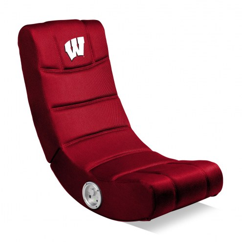 Wisconsin Badgers Bluetooth Gaming Chair