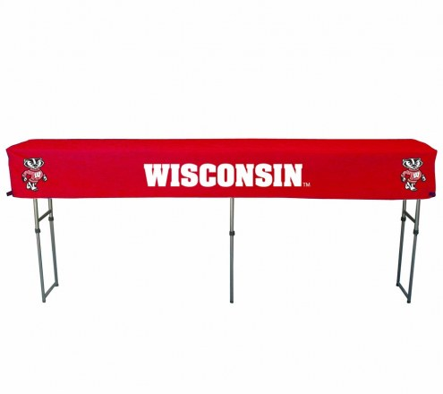 Wisconsin Badgers Buffet Table & Cover