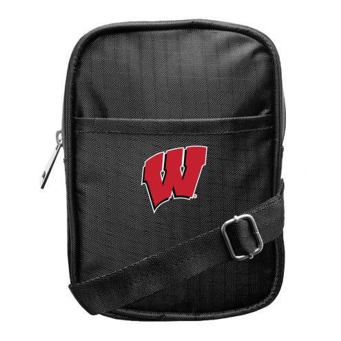 Wisconsin Badgers Camera Crossbody Bag