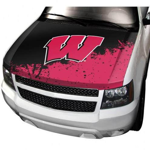Wisconsin Badgers Car Hood Cover