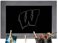 Wisconsin Badgers Chalkboard with Frame