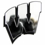 Wisconsin Badgers Chrome Car Emblem