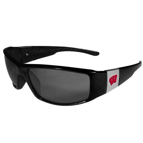 Wisconsin Badgers Chrome Wrap Sunglasses