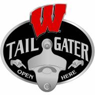 Wisconsin Badgers Class III Tailgater Hitch Cover