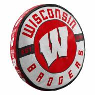Wisconsin Badgers Cloud Travel Pillow