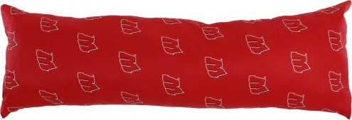 "Wisconsin Badgers 20"" x 60"" Body Pillow"