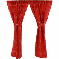 Wisconsin Badgers Curtains
