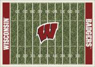 Wisconsin Badgers College Home Field Area Rug